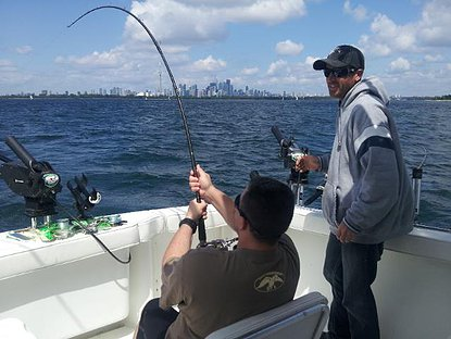 Lake Ontario Fishing Charters for Toronto and Mississauga