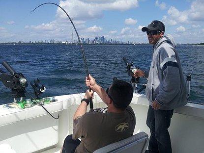 Lake Ontario Fishing Charters for Toronto and Mississauga